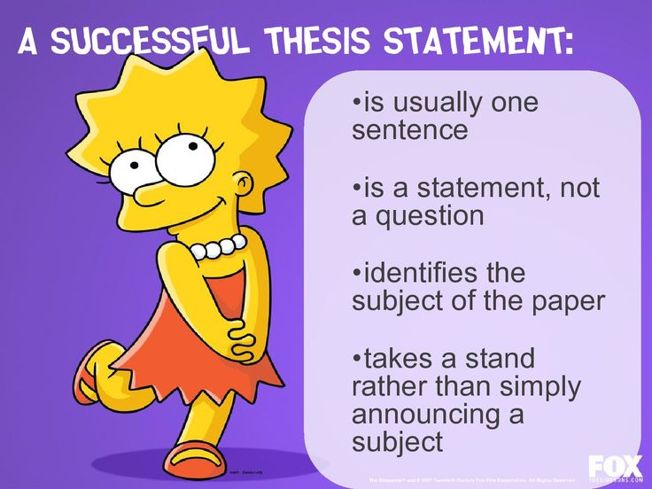 How to Write a Thesis Statement in High School Essays   The Pen     aploon