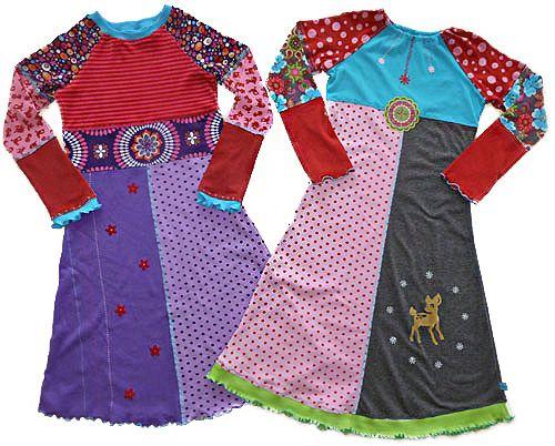 ZOE Schnittmuster farbenmix Shirt