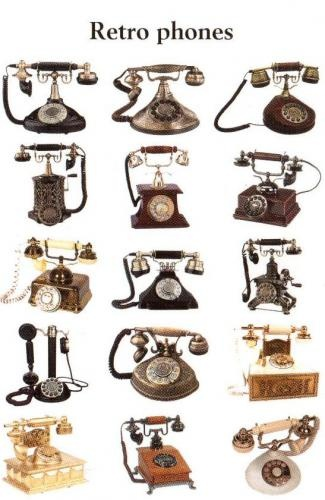 I want an old fashion phone in my house
