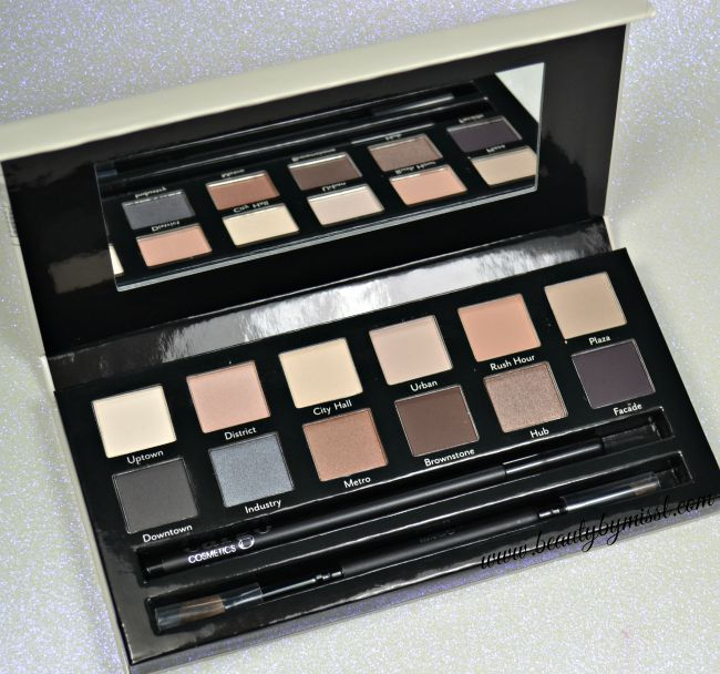 Cargo Cosmetics The Essentials Eye Shadow palette swatches and review via @beautybymissl | www.beautybymissl.com