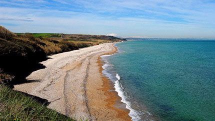 Punta Aderci: Mottagrossa beach