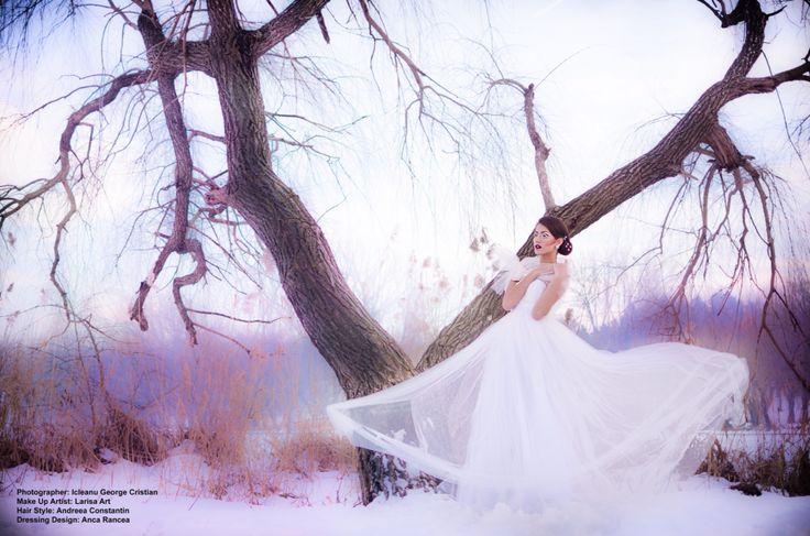 Ice queen bride