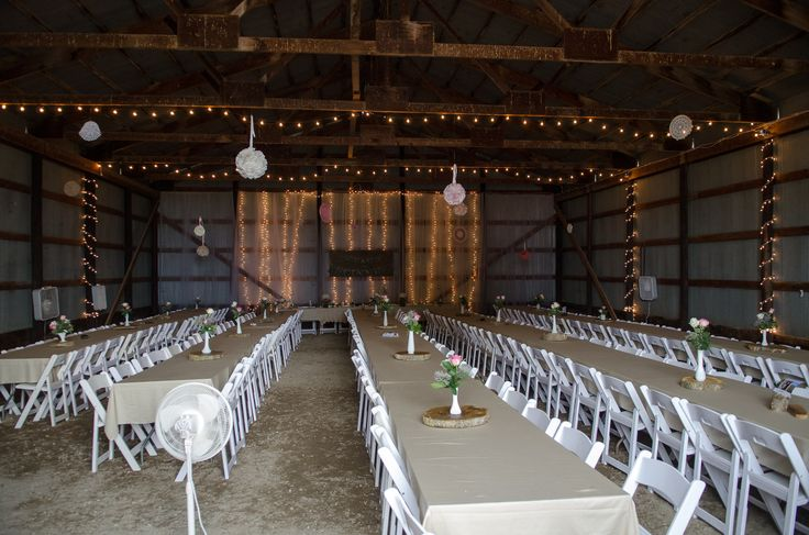 Our Machine Shed Turned Wedding Hall Barn Decorating