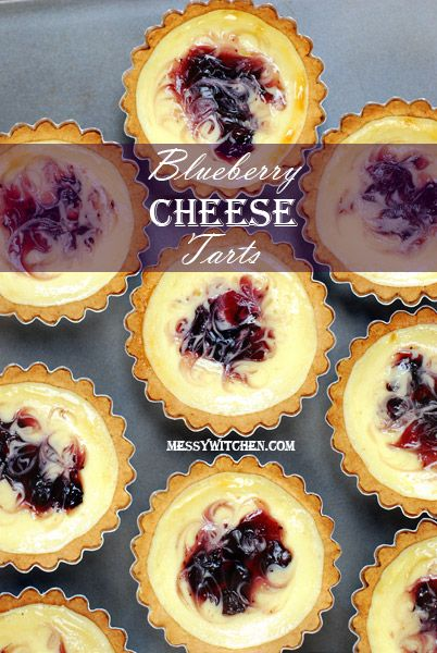 Blueberry Cheese Tarts