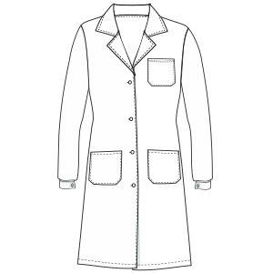 Escoge entre un gran surtido de moldes de ropa y patrones ropa bebes Guardapolvo dama 6823 UNIFORMES Camisas