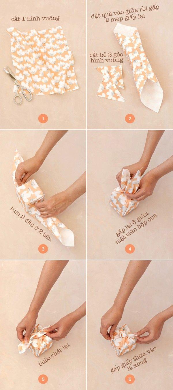 Bỏ túi 3 kiểu gói quà xinh nhặt nhạnh từ đồ cũ - Kenh14.vn