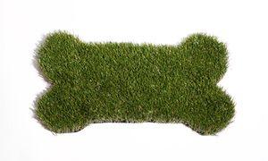 Dog Bone Synthetic Grass Door Mat