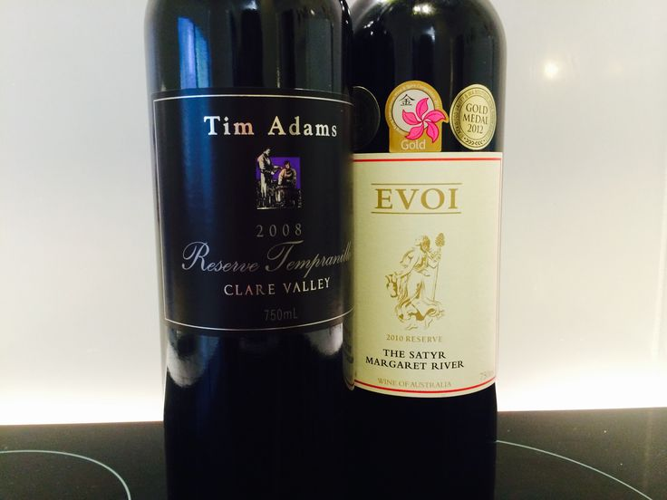 I didn't take a photo of breakfast today. Here is the next best thing.   AU has some banging Tempranillo and Cabernet Sauvignon.