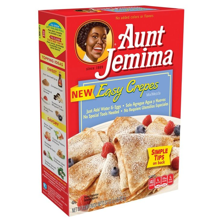 Aunt Jemima Easy Crepes - 33oz
