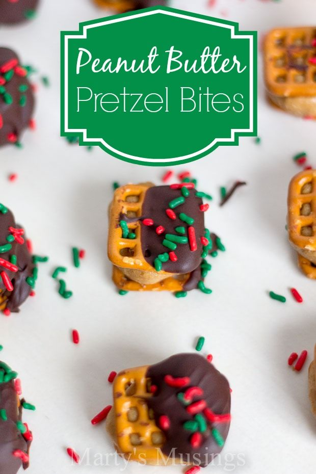 Peanut Butter Pretzel Bites from Marty's Musings