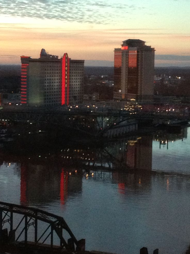View from Horseshoe Casino- Shreveport, LA
