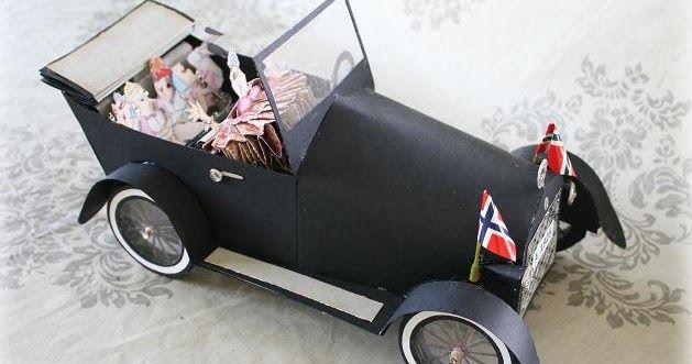For en stund siden lagde jeg denne bilen til Hobbykunst  i Vestby. Bilen er en modell av bilen som står i butikken. Mer bilder av bi...