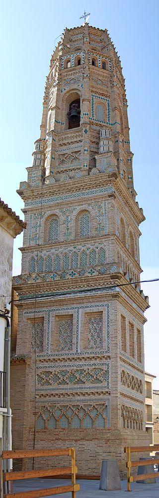 Zaragoza Utebo - Torre de la iglesia -