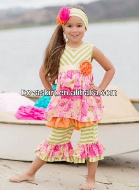 2014 Newest toddler boutique clothing wholesale princess baby clothes sets for girls Summer 2pcs Cotton Clothes Kids Casual Wear $4~$7