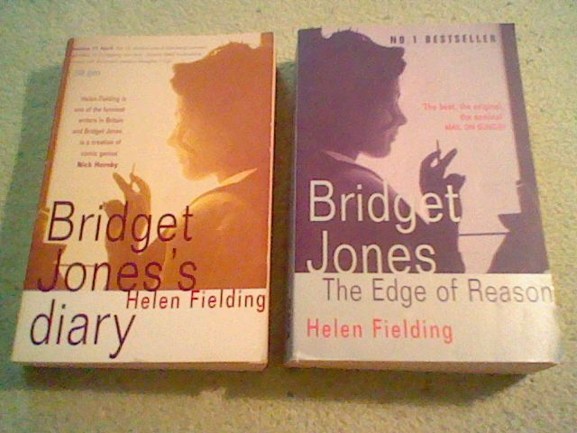 Bridget Jones's Diary, Edge of Reason, Helen Fielding,lot of 2 UK TPB