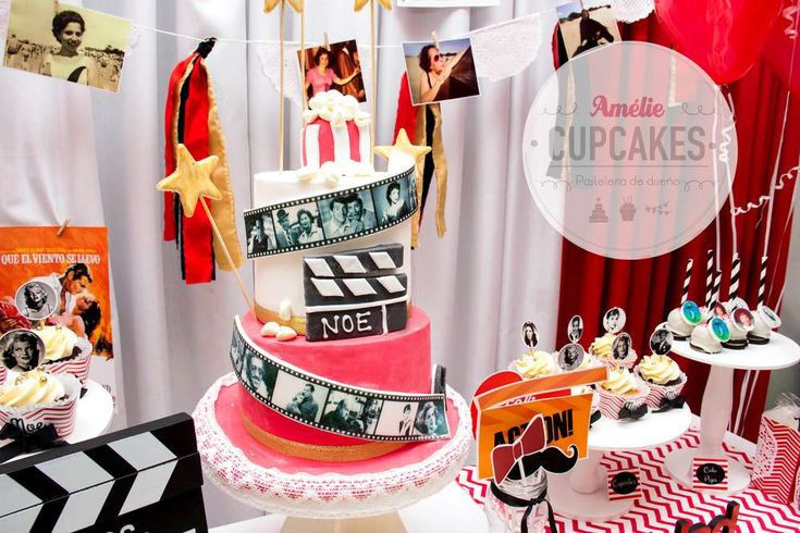 Hollywood Cinema Birthday Birthday Party Ideas | Photo 8 of 12 | Catch My Party