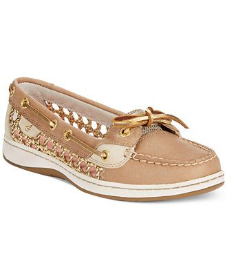 Sperry Women's Angelfish Cane Woven Boat Shoes - Shoes - Macy's