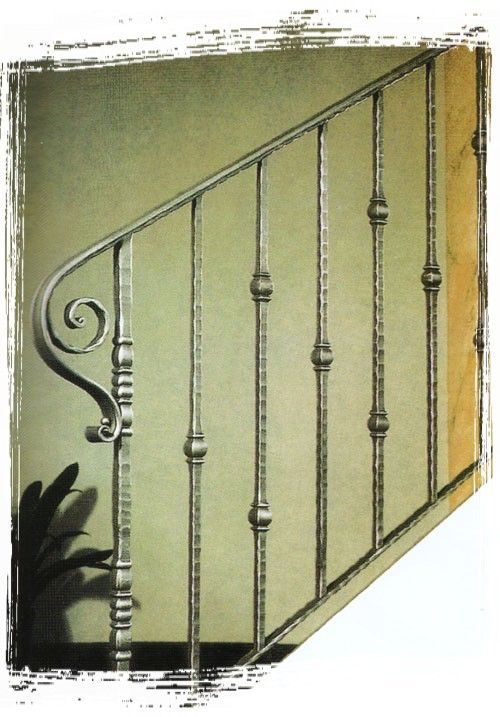 wrought iron banister stairs - Google Search