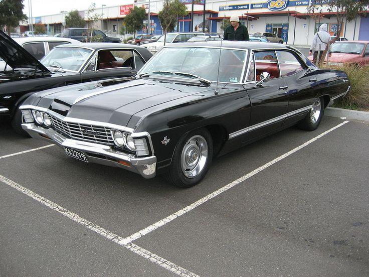 1967 Chevrolet Impala 4 door Hardtop - Supernatural (série télévisée) — Wikipédia | What a sexy piece of work... Mmm.