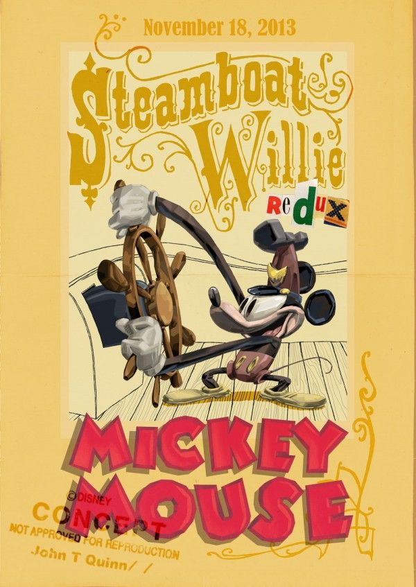 Video And Images: Disney's Steamboat Willie Redux Reimagines Mickey Mouse - Bleeding Cool Comic Book, Movies and TV News and Rumors