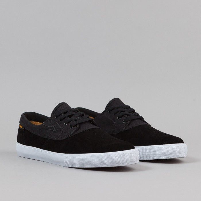 New Lakai Daly MJ Black/White Suede Skate Shoes for Men Sale Online
