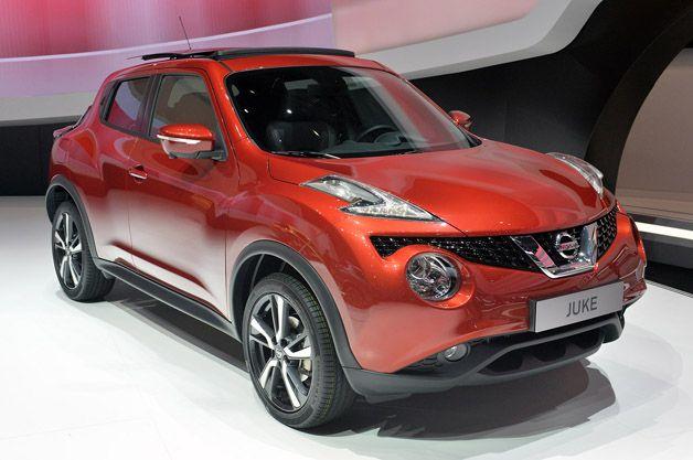2015 @Nissan Juke keeps its funky. http://aol.it/1ooUn7V #geneva