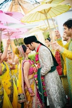 Indische bruiloft