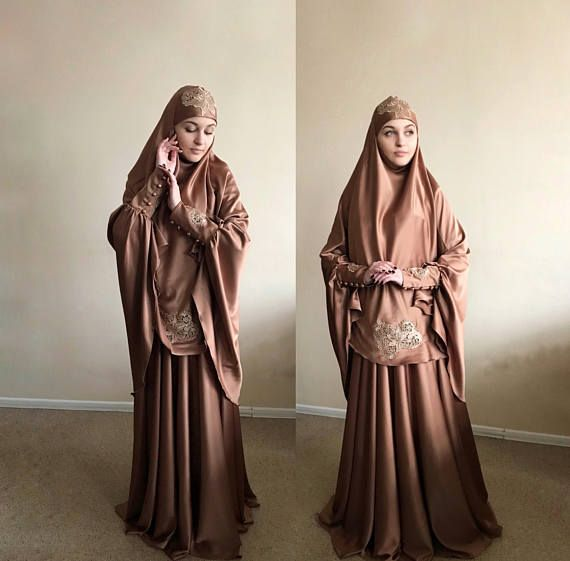 Elegant #muslim  suit, Silk jilbab, wedding #khimar , engagement #islamic  dress, #nikah  outfit, lace burqa, #hijab #hijabfashion #hijabstyle