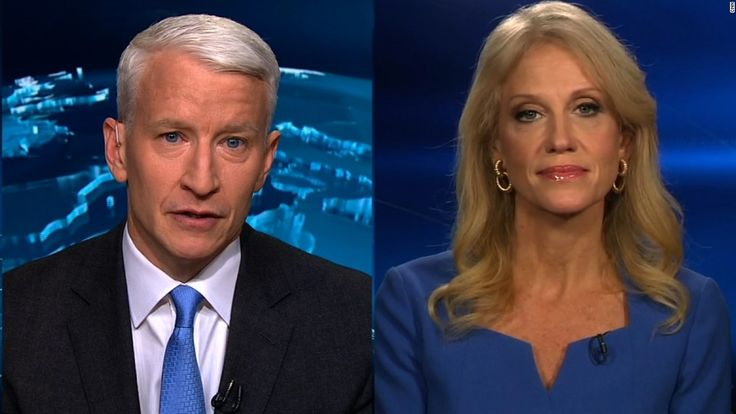 In a fiery exchange between CNN's Anderson Cooper and Kellyanne Conway, the senior adviser to President-elect Donald Trump vehemently denied a report that intelligence officials presented Trump with claims of Russian efforts to compromise him.