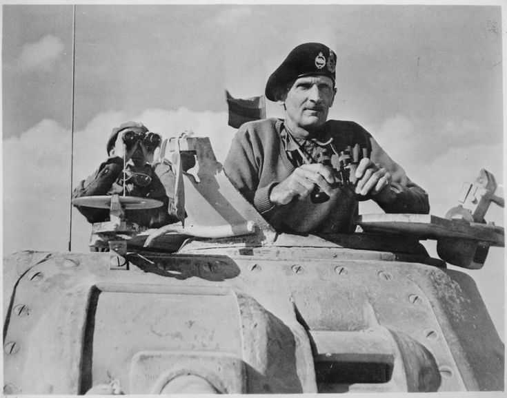 "Legendary British WW2 Field Marshal Montgomery – ""Indomitable in retreat, invincible in advance, insufferable in victory"""