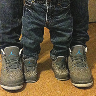 Matching Jordans for my son and me <3