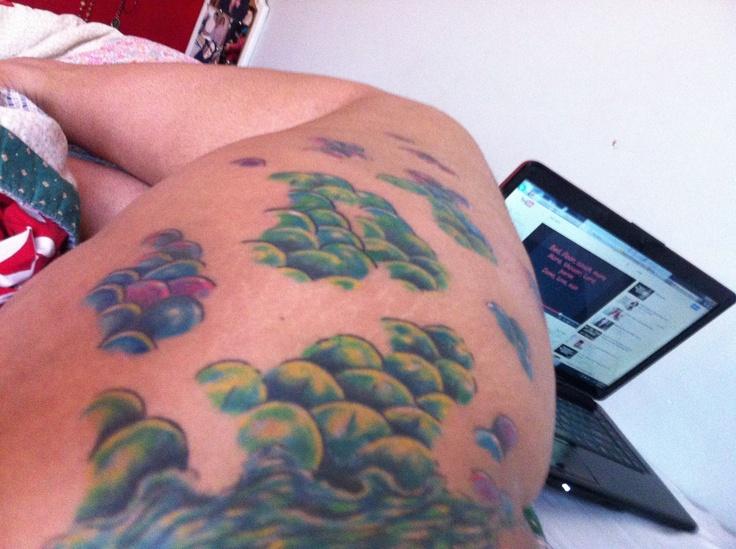 Mermaid scale tattoo  ,girls with tattoos , tattoos , scale tattoo, scale, mermaid , water ,passion,