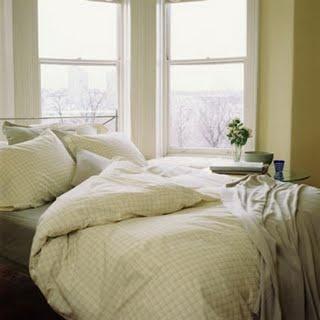 schone lakens om een donzen dekbed