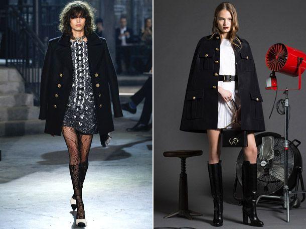 Модные женские бушлаты 2017