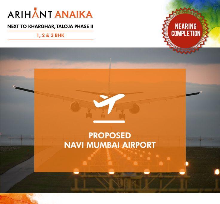 Arihant Anaika  Proposed Navi Mumbai Airport  http://www.asl.net.in/arihant-anaika.html?utm_content=buffer9839c&utm_medium=social&utm_source=pinterest.com&utm_campaign=buffer  #ArihantAnaika #RealEstate #Kharghar #NaviMumbai #Property