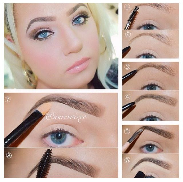 Eyebrows for blondes | Beauty passion | Pinterest ...