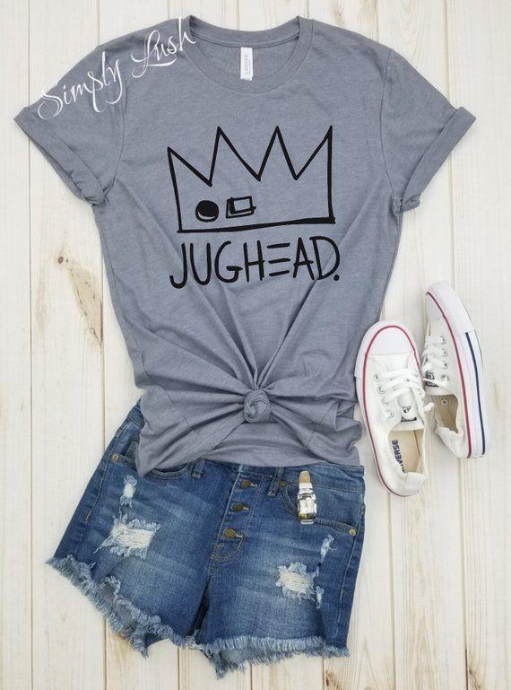 d2054a8b3 jughead Crown Shirt, Riverdale shirt, Jughead Jones, Southside Serpents,  Riverdale cosplay, Riverdale gift, Riverdale shirt, riverdale merch
