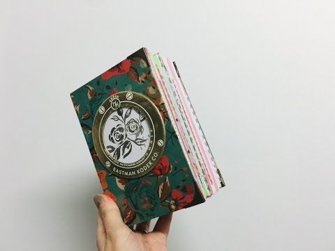 Making a Journal For Beginners - Step by Step Process - YouTube