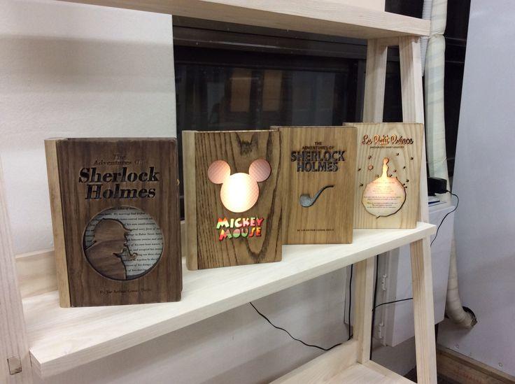 Book lamps