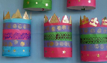 Activité : la couronne à faire soi-même pour la galette des rois ! :)  #DIY #couronne #activite #enfant #ludique #galettedesrois #kiri