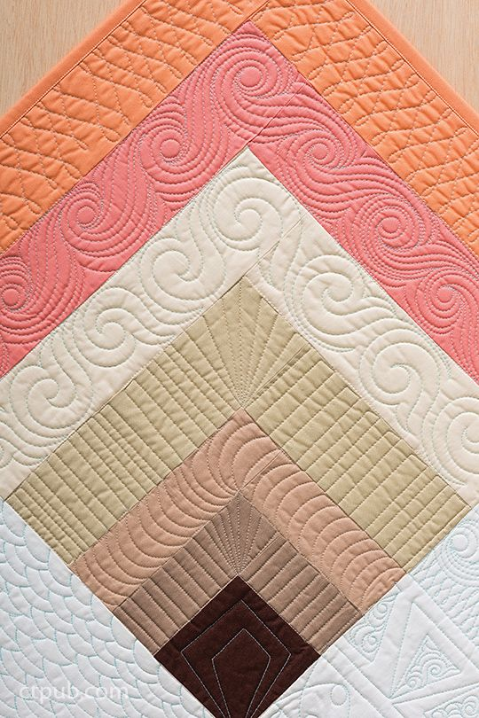 1470 best Quilts: Quilting Templates & Designs images on Pinterest ... : quilt border pattern ideas - Adamdwight.com