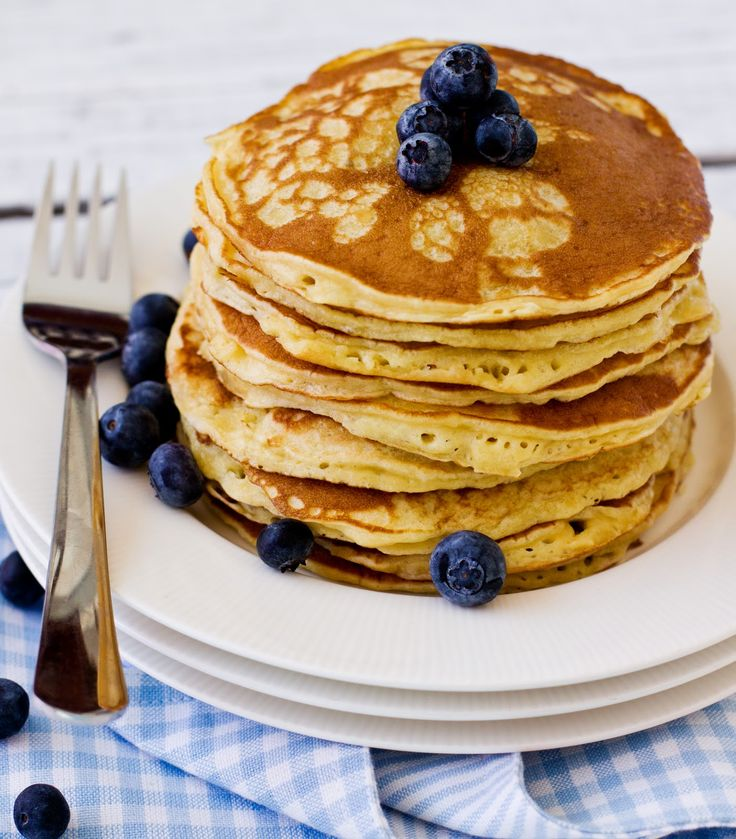 I'm not much of a breakfast person and my staple is usually cornflakes drowned in milk. That is, until I found this pancake recipe. For me,...