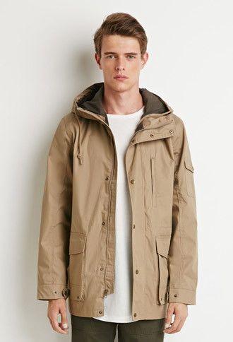 Hooded Utility Jacket | 21 MEN - 2000142886