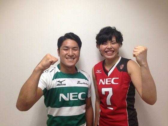 リオデジャネイロオリンピックメンバーに選出されました! | NEC RED ROCKETS