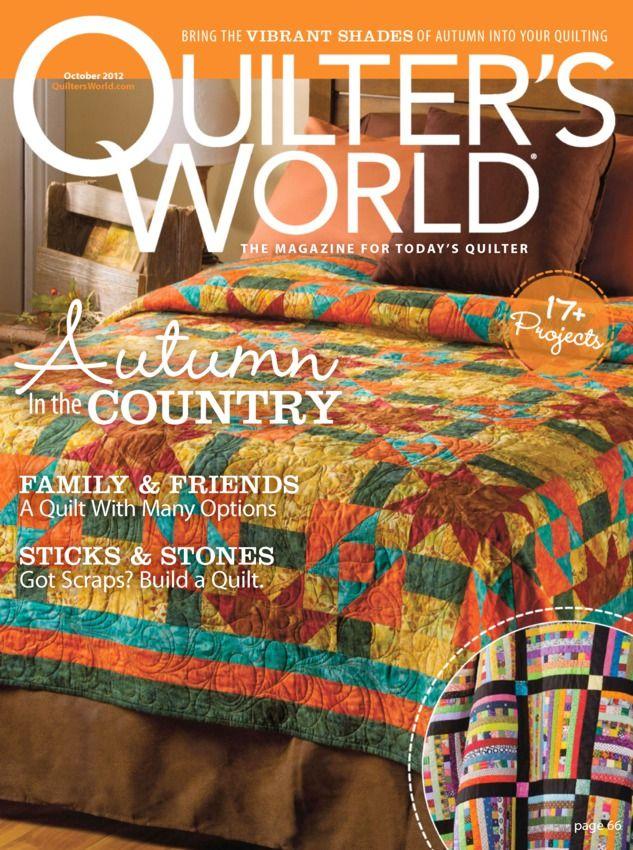 54 best Quilter's World Magazine images on Pinterest | Animal ... : quilting today magazine - Adamdwight.com