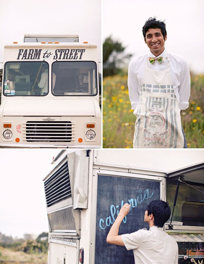 LMAO SO thinking about doing this!!!!-steph  Hire your favorite food truck to serve apps or mid-night buffet at your wedding