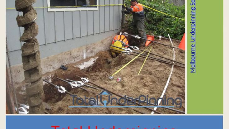 Structural underpinning services include micropiles, traditional piles, and concrete pit underpinning. Let us help you make the best choice for your structure.