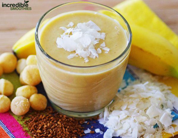 Hawaiian Macadamia Nut Coffee Smoothie Recipe