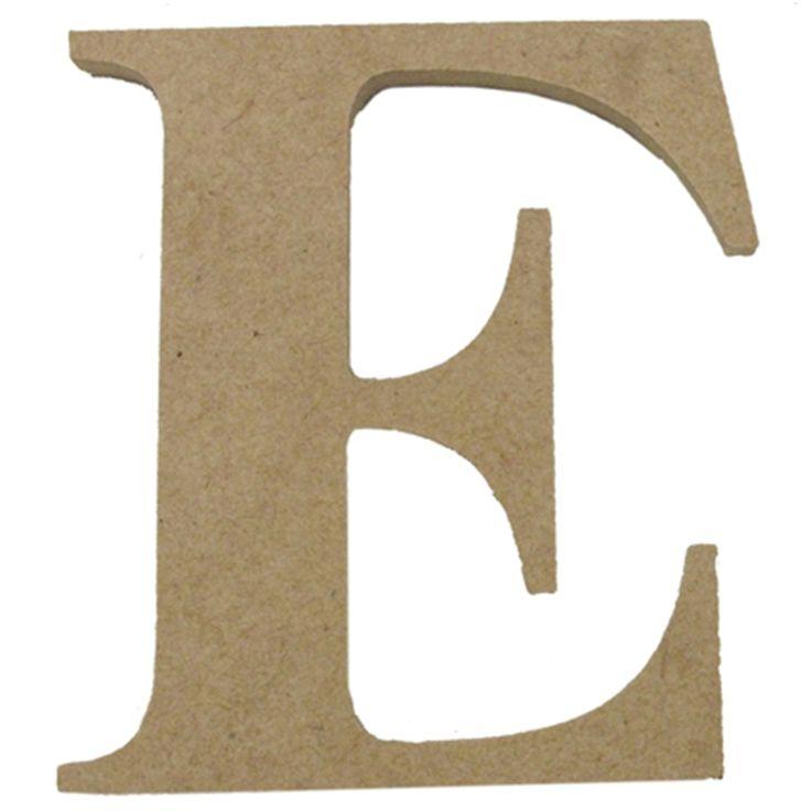 Boyle Large Craftwood Letter E