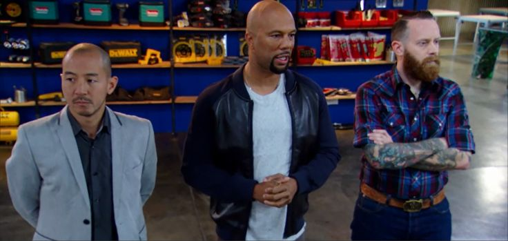 "Grammy award winning musician and superstar Common in our ""Dresden"" Lamb Leather Front Zipper Jacket while hosting his new show Framework on Spike TV 10/9c"